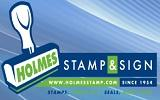 Holmes Stamp and Sign